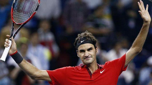 Švýcar Roger Federer je podvanácté v řadě nejoblíbenějším tenistou fanoušků.