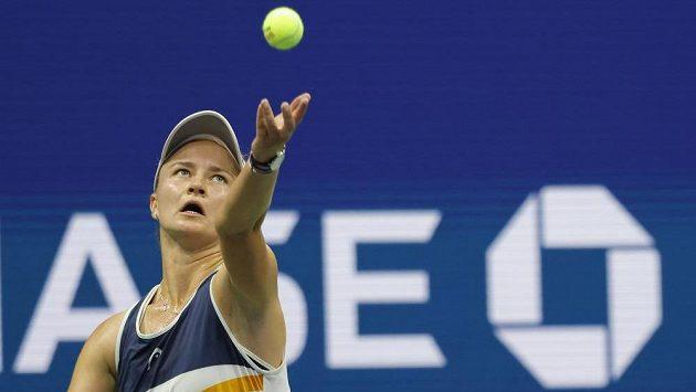 Tenistka Barbora Krejčíková na US Open.