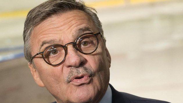 Švýcar René Fasel příští rok skončí v pozici prezidenta IIHF.