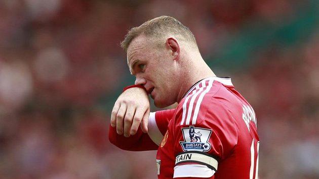 Ani opora Manchesteru United Wayne Rooney se proti Newcastlu neprosadil.