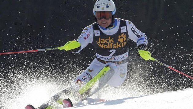V prvním kole byl nejrychlejší Mattias Hargin.