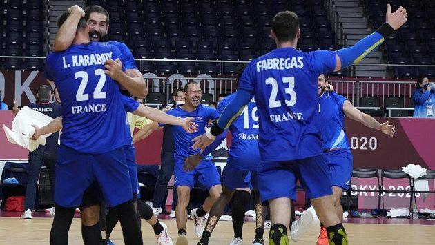 Házenkáři Francie porazili ve finále Dánsko a získali třetí olympijské zlato