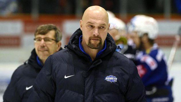 Majitel a trenér Komety Libor Zábranský (vpředu)