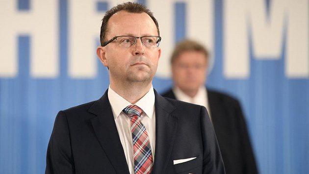 Předseda FAČR Martin Malík.