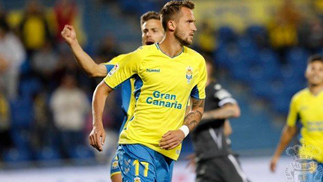 Tomáš Pekhart ještě v dresu Las Palmas.