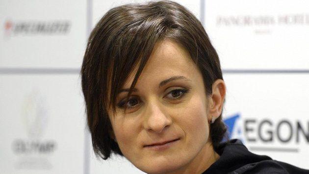 Rychlobruslařka Martina Sáblíková.
