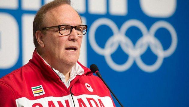Šéf Kanadského olympijského výboru Marcel Aubut.