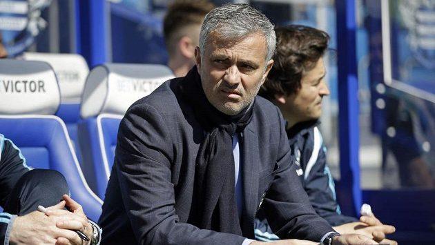 Kouč Chelsea José Mourinho.