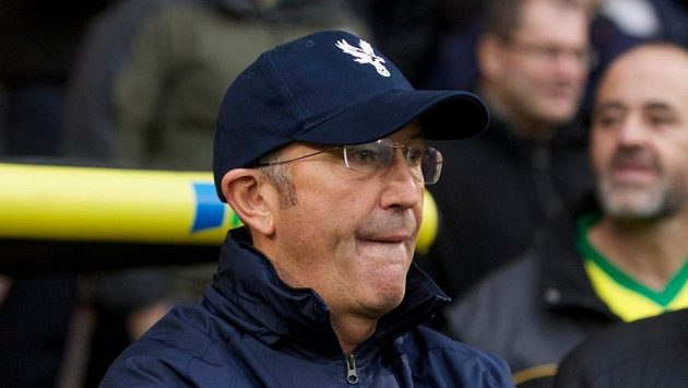Bývalý kouč Crystal Palace Tony Pulis.