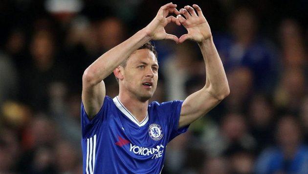 Takhle slavil Nemanja Matič gól v dresu Chelsea. Teď bude hájit barvy Manchesteru United.