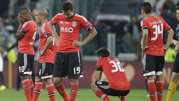 Ani na osmý pokus to nevyšlo. Fotbalisté Benfiky opět prohráli finálový duel, tentokrát nezvládli penaltovou loterii se Sevillou.