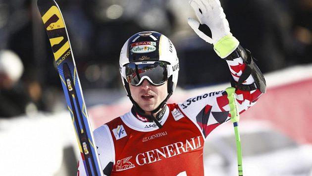 Rakouský lyžař Hannes Reichelt