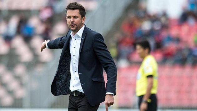 Trenér Sparty Praha David Holoubek si připsal uklidňující výhru.