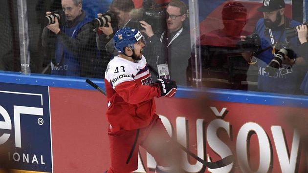 Nejproduktivnější Čech v KHL Jan Kovář