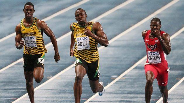 Jamajský sprinter Kemar Bailey-Cole (vlevo) se nakazil virem zika.