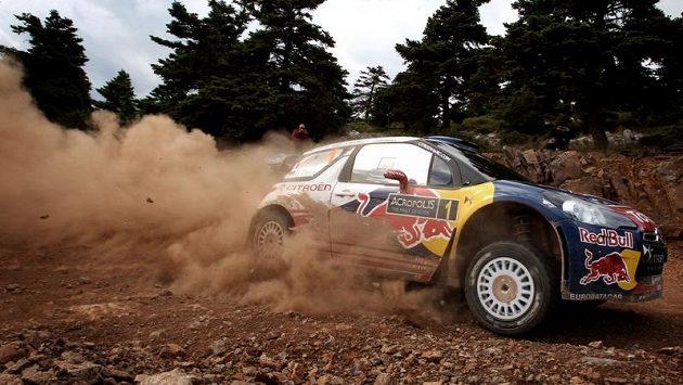Sebastien Loeb na trati Akropolis rallye