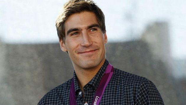 Moderní pětibojař David Svoboda, olympijský vítěz z Londýna