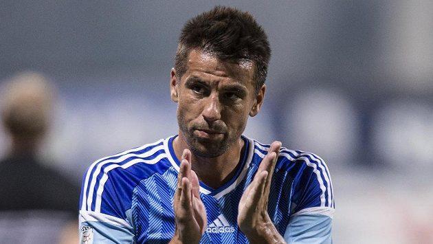 Útočník Milan Baroš pomohl k vítězství Mladé Boleslavi nad Slováckem dvěma góly.