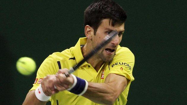 Srbský tenista Novak Djokovič porazil v první mkole turnaje v Dauhá Němce Dustina Browna.