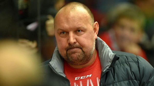 Trenér Pardubic Ladislav Lubina.