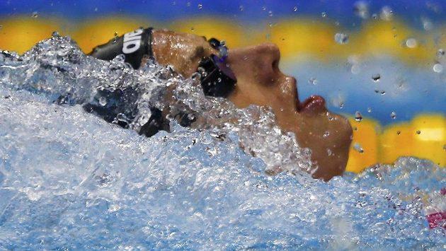 Maďarka Katinka Hosszúová v krátkém bazénu exceluje.