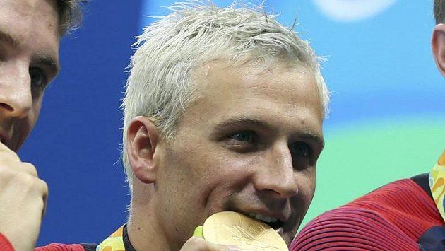Americký plavec Ryan Lochte.