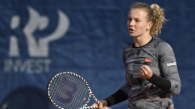 Kateřina Siniaková během utkání