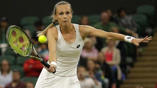 Slovenská tenistka Magdaléna Rybáriková.