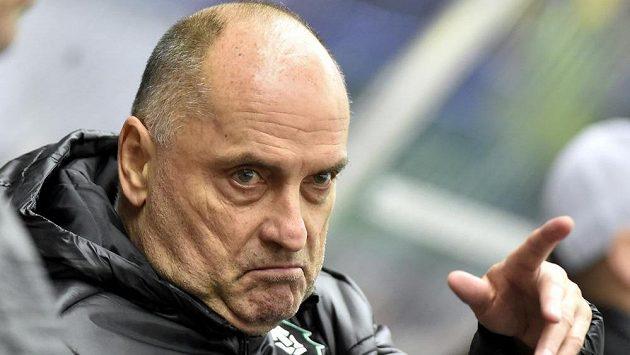 Nový trenér Boleslavi Vladimír Kýhos.