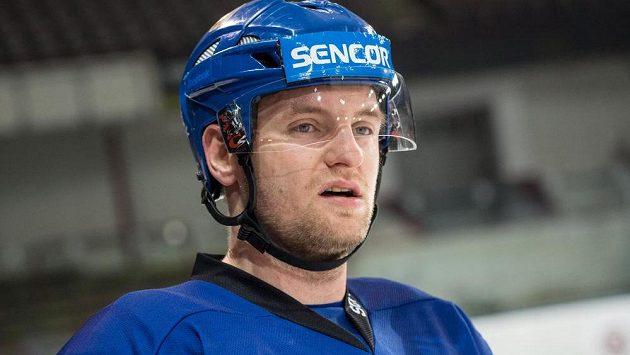 Obránce Jakub Jeřábek na archivním snímku z tréninku hokejové reprezentace.