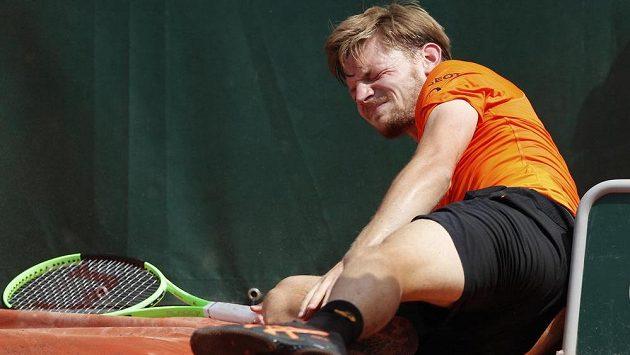 Zranění kotníku nepustí Davida Goffina na Wimbledon.