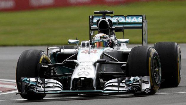 Lewis Hamilton zajel v Montrealu nejrychlejší čas v tréninku.