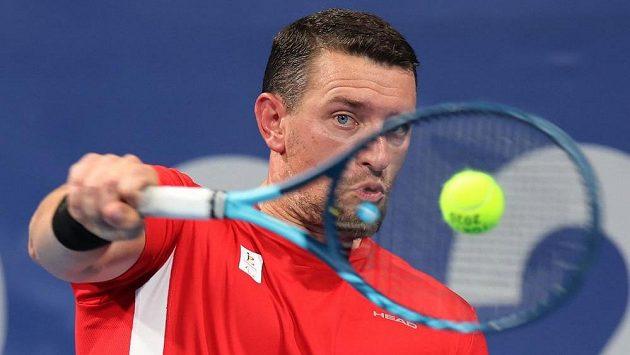Belgický paralympijský tenista Joachim Gerard upadl do bezvědomí