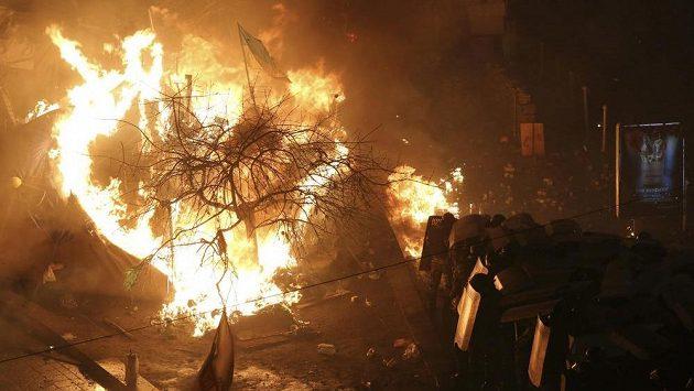 Situace v Kyjevě je kritická.