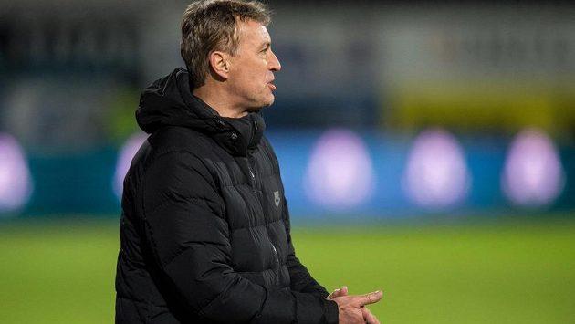 Trenér Jablonce Zdeněk Klucký.