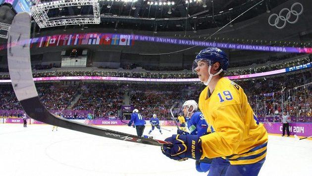 Švédský hokejista Nicklas Bäckström