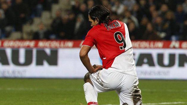 Fotbalista Monaka Radamel Falcao