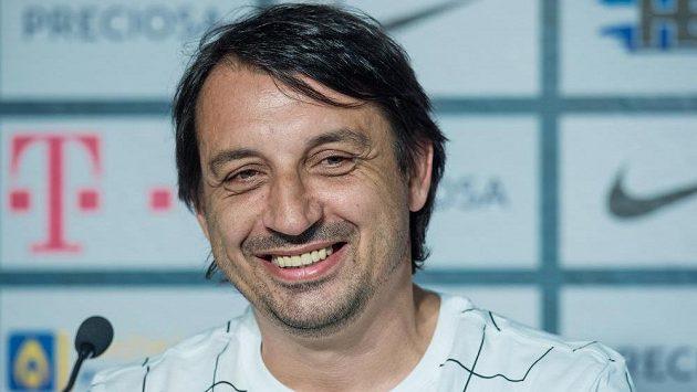 Slovenský trenér libereckých fotbalistů Zsolt Hornyák.