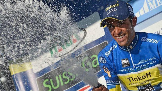 Alberto Contador ovládl Tirreno Adriatico.
