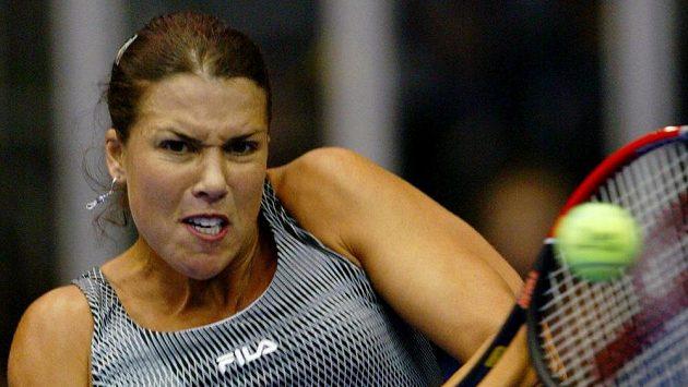 Americká tenistka Jennifer Capriatiová na archivním snímku.