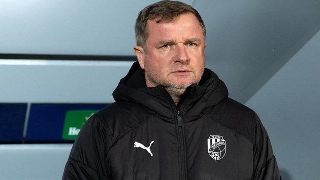 Trenér Viktorie Plzeň Pavel Vrba