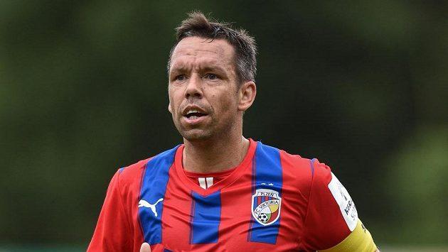 Plzeňský záložník Pavel Horváth si zahrál za Domažlice.
