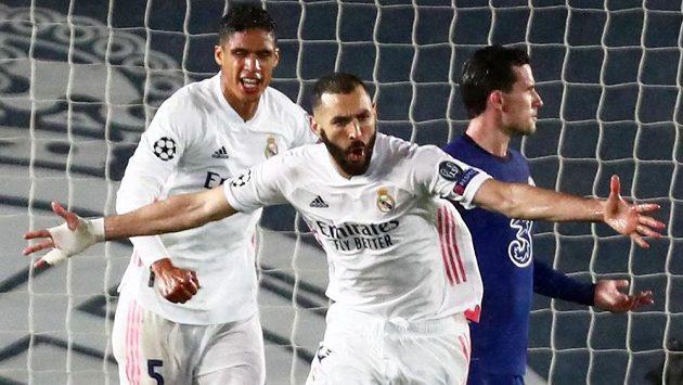 Sestřih úvodního semifinále Ligy mistrů Real Madrid - Chelsea