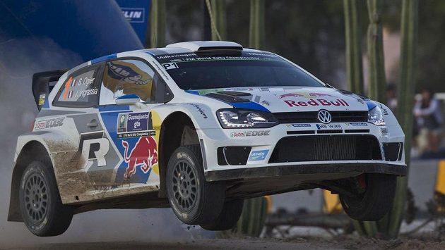 Pilot Volkswagenu Sébastien Ogier se spolujezdcem Julien Ingrassi ovládli Mexickou rallye.