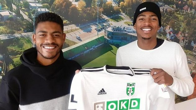 Eduardo Gonzaga Mendes Santos a Jean Mangabeira da Silva budou definitivně v jarní části oblékat dres MFK Karviná.
