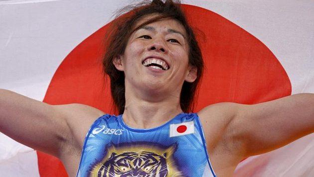 Japonská zápasnice Saori Jošidaová zvítězila na třetích olympijských hrách za sebou