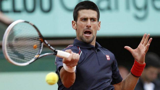 Srbský tenista Novak Djokovič znovu prokázal bojovné srdce