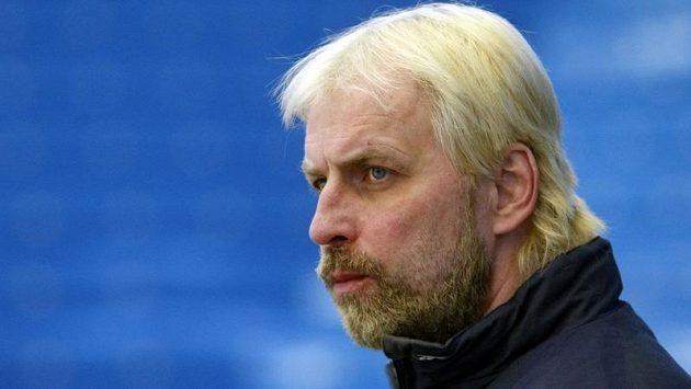 Trenér zlínských hokejistů Rostislav Vlach