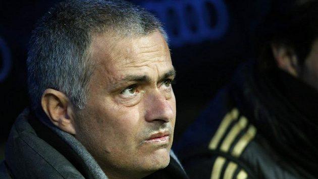 Trenér fotbalistů Realu Madrid José Mourinho