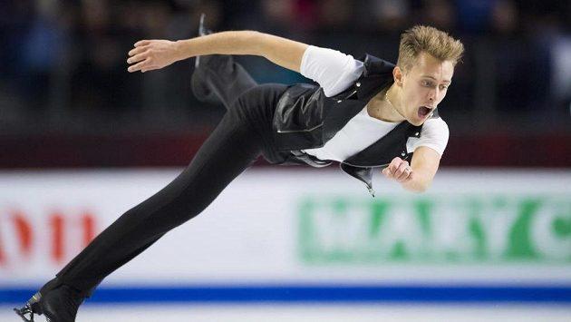 Michal Březina během finále Grand Prix ve Vancouveru.